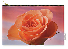 Evening Rose Carry-all Pouch by Terence Davis
