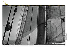 Evening Sail Bw Carry-all Pouch