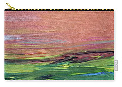 Evening Sea And Water Carry-all Pouch