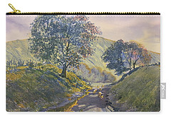 Evening Stroll In Millington Dale Carry-all Pouch