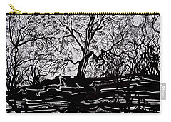 Evening Sun Of Waterton Carry-all Pouch by Anna  Duyunova