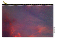Evening Sunset Paints The Sky Carry-all Pouch