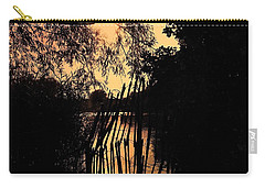 Carry-all Pouch featuring the photograph Evening Time by Keith Elliott