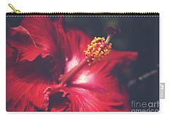 Carry-all Pouch featuring the photograph Evening Whispers by Sharon Mau