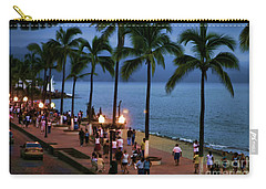 Evenings On The Malecon Carry-all Pouch