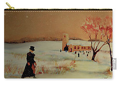 Carry-all Pouch featuring the painting Evensong by Valerie Anne Kelly