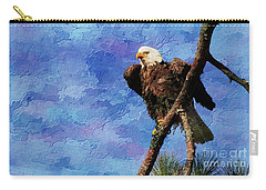 Carry-all Pouch featuring the photograph Ever Watchful by Geraldine DeBoer