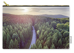 Evergreen Forest From Above Carry-all Pouch