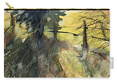 Evergreen Carry-all Pouch by Judith Levins