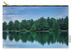 Evergreen Lake Reflections Carry-all Pouch