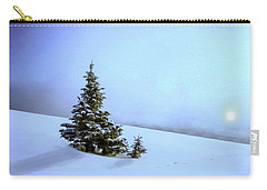 Carry-all Pouch featuring the painting Evergreen Offspring P D P by David Dehner