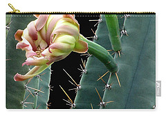Every Cactus Flower Has It's Thorns  Carry-all Pouch