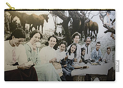 Carry-all Pouch featuring the photograph Every Day Life In Nation In Making by Miroslava Jurcik
