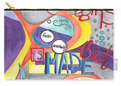 Carry-all Pouch featuring the painting Every Dream Begins by Erin Fickert-Rowland