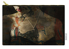 Carry-all Pouch featuring the digital art Every Picture Tells A Story by Paul Lovering