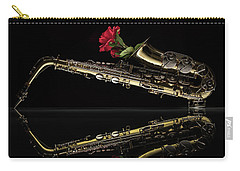 Every Rose Has Its Horn Carry-all Pouch