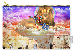 Carry-all Pouch featuring the digital art Every Tribe Every Nation by Dolores Develde