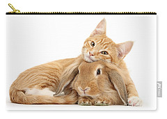 Everybody Needs A Bunny For A Pillow Carry-all Pouch