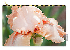 Carry-all Pouch featuring the photograph Everything Is Peachy by Sherry Hallemeier