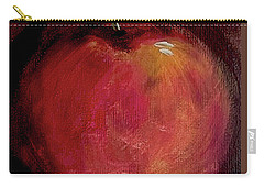 Carry-all Pouch featuring the painting Eve's Apple.. by Jolanta Anna Karolska