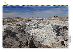 Carry-all Pouch featuring the photograph Evident Erosion by Gary Kaylor