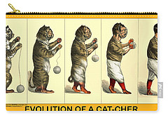 Evolution Of A Cat-cher Carry-all Pouch