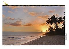 Ewa Beach Sunset 2 - Oahu Hawaii Carry-all Pouch by Brian Harig