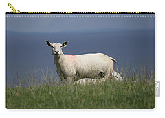 Ewe Guarding Lamb Carry-all Pouch