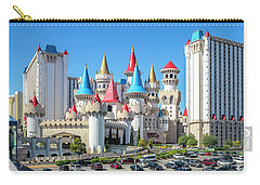 Excalibur Casino From The North 2 To 1 Ratio Carry-all Pouch by Aloha Art