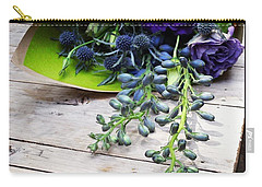 Carry-all Pouch featuring the photograph Excellent Customer Service. #flowers by Mr Photojimsf