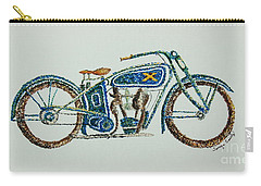 Excelsior Motorcycle Carry-all Pouch by Tamyra Crossley
