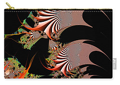 Carry-all Pouch featuring the digital art Excetremen by Andrew Kotlinski