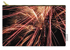 Carry-all Pouch featuring the photograph Exciting Fireworks #0734 by Barbara Tristan