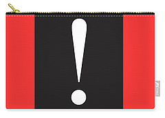 Exclamation Symbol Minimalist Poster Carry-all Pouch