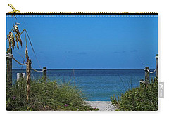 Carry-all Pouch featuring the photograph Exclusively Captiva by Michiale Schneider