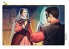 Execution Of Mary Queen Of Scots Carry-all Pouch by English School