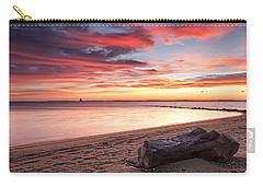 Carry-all Pouch featuring the photograph Exhale by Edward Kreis