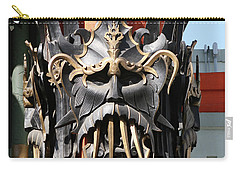 Exotic Chinese Mask Carry-all Pouch