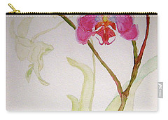 Carry-all Pouch featuring the painting Exotic Dancer by Beverley Harper Tinsley