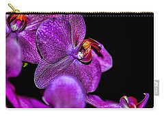 Carry-all Pouch featuring the photograph Exotic by Diana Mary Sharpton