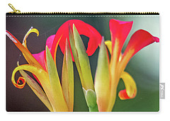 Carry-all Pouch featuring the photograph Exotic Flowers by Kate Brown