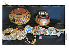 Exotic Gourds Carry-all Pouch by Barbara Prestridge