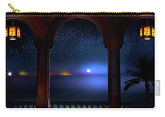 Carry-all Pouch featuring the photograph Exotic Night by Mark Andrew Thomas