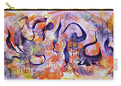 Experimental Forest Carry-all Pouch by Debra Baldwin