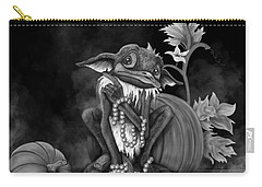 Explain Yourself - Black And White Fantasy Art Carry-all Pouch