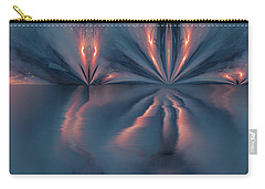 Exploding Butterfly Carry-all Pouch