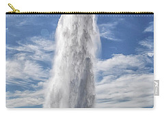 Exploding Geyser In Iceland Carry-all Pouch