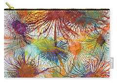 Exploflora Series Number 4 Carry-all Pouch by Sumit Mehndiratta