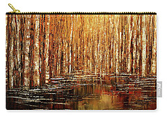 Carry-all Pouch featuring the painting Exploration Of Ohio by Tatiana Iliina