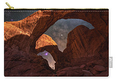 Carry-all Pouch featuring the photograph Explore The Night by Darren White